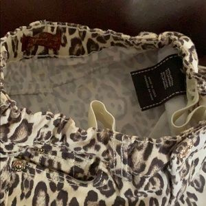 7 For All Mankind Bottoms - 7 for all Mankind Leopard print